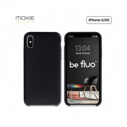 Acheter un smartphone neuf - Coque Silicone BeFluo pour iPhone X/XS - Noir - garantie 24 mois