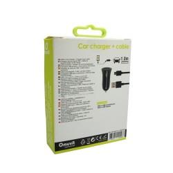 Acheter un Pack Chargeur Allume Cigare 1 USB et Câble Micro USB - neuf - paiement plusieurs fois