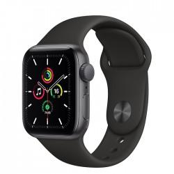 Acheter un Apple Watch SE GPS 40 mm - Boîtier en Aluminium Gris Sidéral avec Bracelet Sport Noir - neuf - paiement plusieurs foi